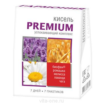 Кисель витаминизированный с Биофеном Гармония Premium в пакетиках 140 гр